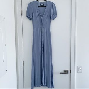 Reformation Powder Blue Maxi Dress - Size 2 / XS